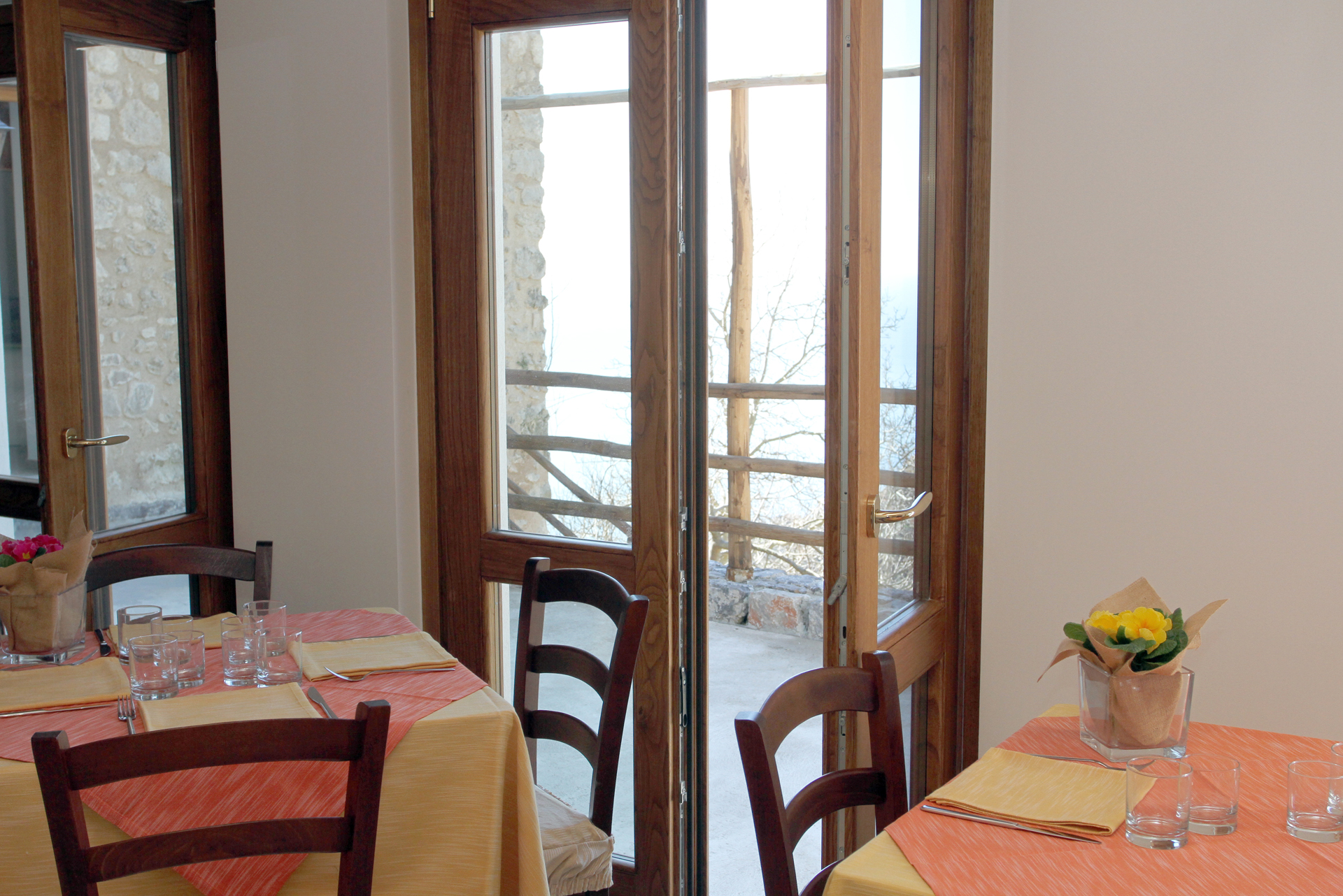 Sala colazione agriturismo
